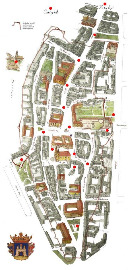 Székesfehérvár Belváros Térkép